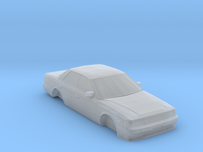 N Scale 1989-1993 Nissan Laurel C33 in Smooth Fine Detail Plastic