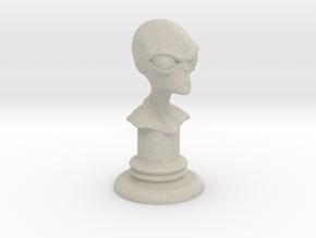 Alien-04 in Natural Sandstone