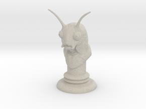 Alien-07 in Natural Sandstone