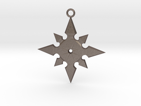 Star Pendant (MK9) in Stainless Steel