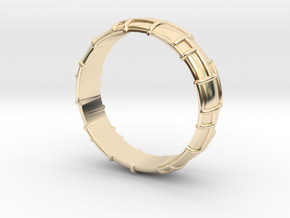 Ring Wedding in 14k Gold Plated