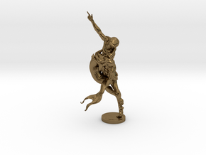 Youth & Mermaid in Polished Bronze