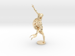 Youth & Mermaid in 14k Gold Plated Brass