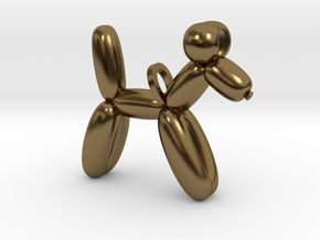Balloon Dog in Polished Bronze