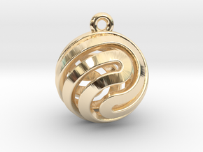 Ball-small-14-2 in 14k Gold Plated Brass