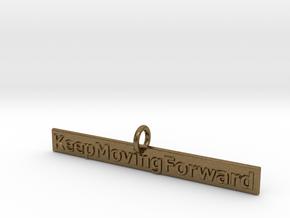 KeepMovingForward in Natural Bronze