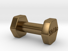 Monopoly Weight Custom piece in Natural Bronze