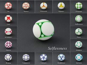 LuminOrb 1.2 - SELFLESSNESS in Full Color Sandstone