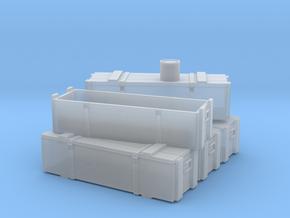 Proyectiles 105 Y Cajas-N in Smooth Fine Detail Plastic