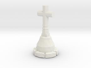 NRelCal01 - Campaign calvary in White Natural Versatile Plastic