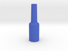 Euphonium Mouthpiece Resistance Tool in Blue Strong & Flexible Polished