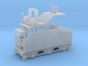 Fowler Tender - Body in Smooth Fine Detail Plastic