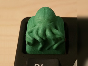 Cthulhu Cherry MX Keycap in Green Processed Versatile Plastic