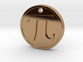 PI Pendant in Polished Brass
