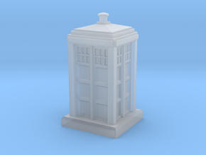 N Gauge - Police Box  in Smooth Fine Detail Plastic