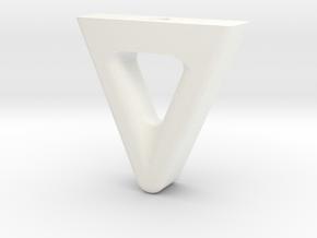 QAV250 Mini-Quad Landing Gear in White Processed Versatile Plastic