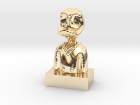 Duck in 14K Yellow Gold