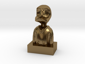 Duck in Polished Bronze