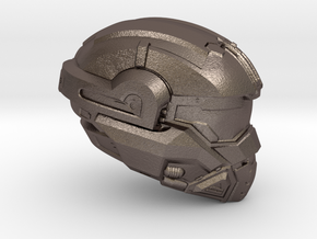 Halo 5 Noble 1/6 scale helmet in Polished Bronzed Silver Steel