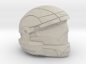 Halo 3 Odst custom 1/6 scale helmet in Natural Sandstone