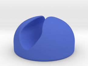 Cable Fixer in Blue Processed Versatile Plastic
