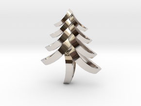 Fancy Tree in Rhodium Plated