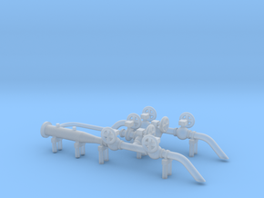 HO Scale Pig Launcher in Smooth Fine Detail Plastic