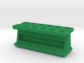 New and Improved! 12 Tube Mag Stand V2 in Green Strong & Flexible Polished