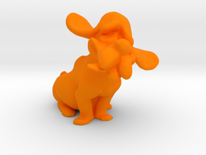 Hound Dog  in Orange Processed Versatile Plastic