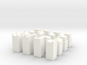 Cubify in White Strong & Flexible Polished