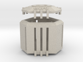 Ingress Capsule - MUFG (2.25 inches) in Natural Sandstone