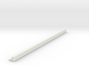 NQP07 Railway platform in White Natural Versatile Plastic