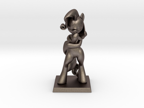 My Little Pony - Fabulous Rarity 10cm in Polished Bronzed Silver Steel