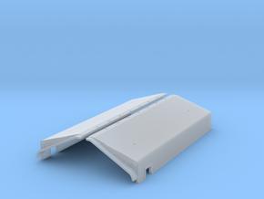 SN0002 SD40-2W Narrow Notch Snow Shields 1/87.1 in Smoothest Fine Detail Plastic