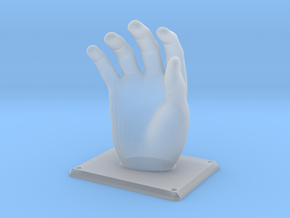 Hand Hanger in Smooth Fine Detail Plastic
