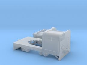 Jung Feldbahntriebwagen Spur 0e/f Variante2 in Smooth Fine Detail Plastic