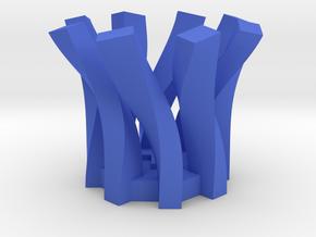 Penholder  in Blue Strong & Flexible Polished
