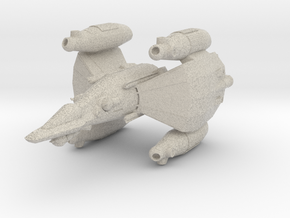 Gunstar - Starfighter in Natural Sandstone