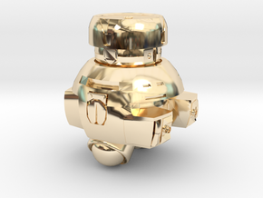 Vincent Robot in 14K Yellow Gold