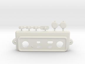 MadCatz TE/TE-S Top Panel mod in White Strong & Flexible
