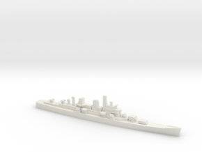 Boston-Class Cruiser, 1/2400 in White Natural Versatile Plastic