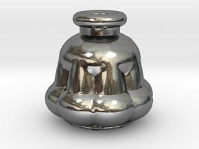 Potion Bottle #3 in Polished Silver