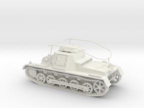 VBA SdKfz 265 Panzerbefehlswagen 1:48 28mm wargame in White Natural Versatile Plastic