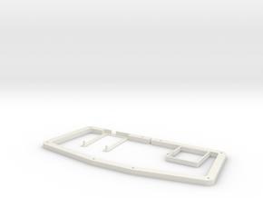 atreus_bluetooth DXF version in White Natural Versatile Plastic