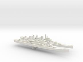Boston-Class Cruiser x 2, 1/3000 in White Natural Versatile Plastic
