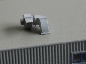 N Scale 2x Rooftop Fan #2 in Frosted Ultra Detail