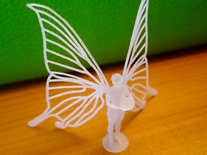 Butterfly Wing Fairy in Frosted Extreme Detail