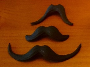 November Mike Mustache Pack in Black Strong & Flexible
