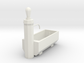RhB Fountain - Filisur Version in White Natural Versatile Plastic