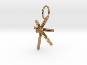 Kuumba (Creativity) KWANZAA SERIES in Polished Brass